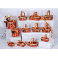 China Decor & Furnishing WOOD CHIP BASKET-2 on sale