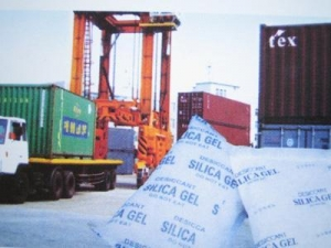 China Silica gel desiccant for container on sale