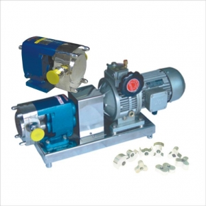 China LQ3A Stainless Steel Lobe Rotor Pump on sale