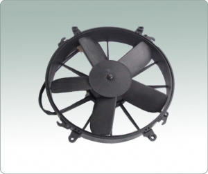 China 12,Replace SPAL motor fan,24V DC condenser fan,suction airflow on sale