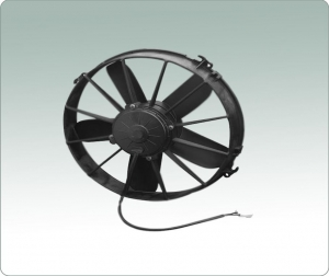 China Suction airflow, brushless motor,replace 12 SPAL fan, 24V DC fans on sale