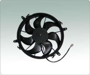 China Replace SPAL evaporator blower,24V DC fan.curved blades, suction airflow on sale