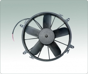 China Brushless motor, replace 12 SPAL fan, 24V DC fan, blowing airflow. on sale