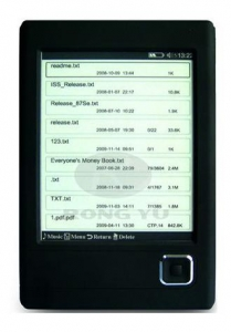 China Ebooks Reader Model NO. :RY-6101 on sale