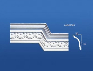 China Interior decorative gypsum moulding, Cornices on sale