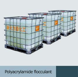 China Polyacrylamide flocculant on sale