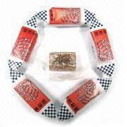 China Rectangular Ginger Soft Candy, Available in Printed Paper Package on sale
