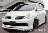 China Nissan Tiida Sport auto body kits AREAL on sale