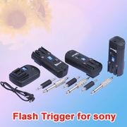 China iShoot Radio Wireless Remote Control Flash Trigger for Sony PT-04---1 Transmitter+3 Receiver on sale