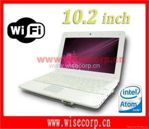 China WN03 10.2'' Notebook Intel Atom Wifi Windows XP Camera on sale