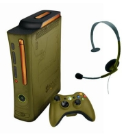Game Console Xbox 360 console Green color