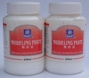 China Painting medium MODELING PASTE on sale
