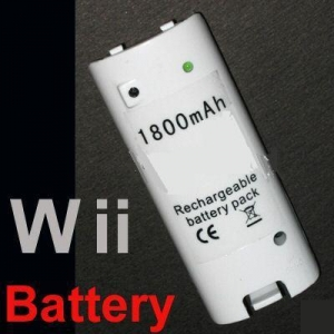 China Wii 1800mAH Rechargeable battery pack Model:WSS-WII-26 on sale