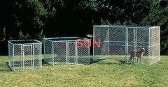 China Chain Link Animal and Pet Dog Run Kennels on sale