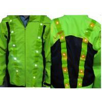 China LED&EL reflective safety vest No:2053 on sale