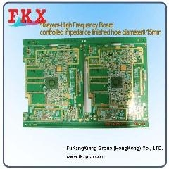 China 10layers,high frequency ,controlled impedance PCB on sale