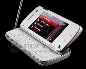 China N97 1:1 TV dual sim dual standby quad band mobile phone on sale