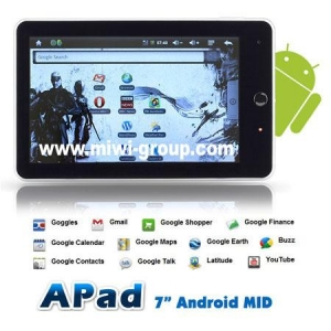 China Tablet PC 7inch China Apad on sale