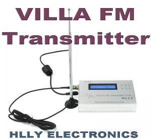 China TOP Grade 0.5W VILLA FM TRANSMITTER + Antenna + Power on sale