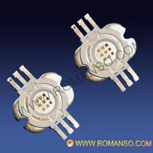 China 9W RGB high power LED six leads on sale