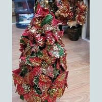 Artificial flower table tree