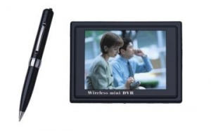 China 2.4GHz Wireless Pen Camera with DVR on sale