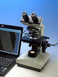 China Biological Microscope with a digital camera on sale