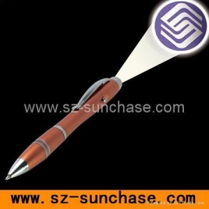 China logo projector pen on sale