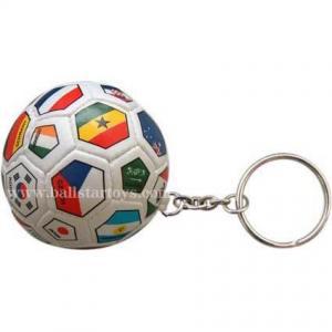China Stuffed soft ball keychain KB001 on sale