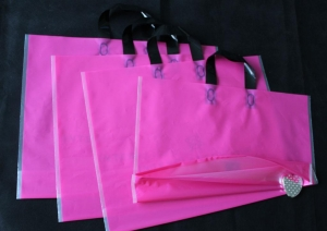 China Plastic Handle Bags on sale