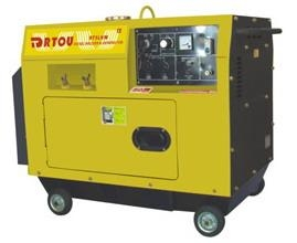 China Silent Type Diesel Welder & Generator on sale