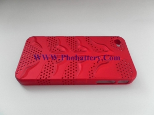 China capsule perforated snap protective case for iPhone 4G on sale