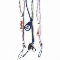 Zipper lanyard pm-zl-04