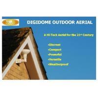 SLx Gold DigiDome Outdoor TV aerial - White kit