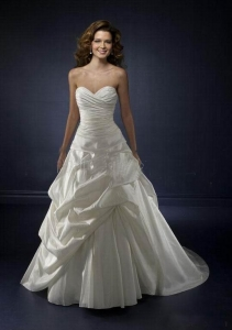 China 2010 beautiful bridal wedding gown -WD-52 on sale