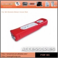 Wii Remote Silicon Cover Red