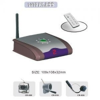 China Wireless AV Transmitter and Receiver CR402 on sale