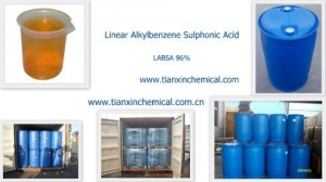 China Linear Alkyl Benzene Sulphonic Acid - LABSA 96% on sale