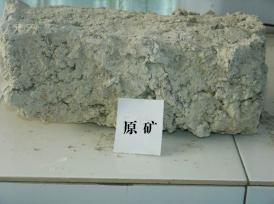 China Crude diatomite ore on sale