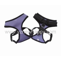 Soft air mesh pet harnesses with velcro