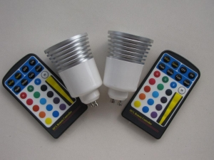 China LED Remote controll Spot Lamp on sale