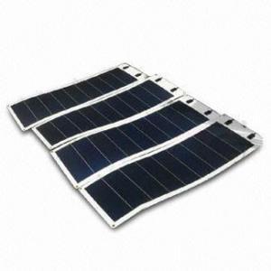 China 32W Thin Film Amorphous Flexible Solar Panel on sale