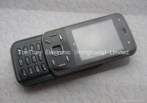 China Mini Nokia N86 copy mobile phone quad band dual sim cards double sliding design on sale
