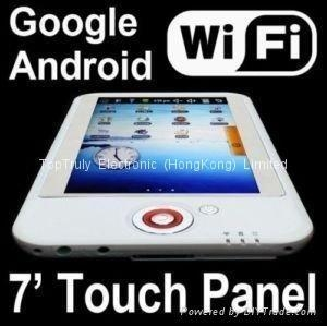 China 7 inch touch screen google android tablet PC wifi map,android support 3G MID on sale
