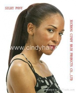 China Synthetic pony tail on sale
