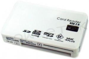China Card Reader - 60in1 (SD(7 in 1)/ MS(3 in 1)/ microSD/ xD/ CF/ M2) - (ZW-12011-1) on sale