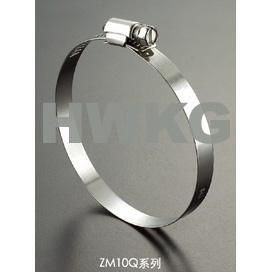 China Stainless steel worm drive hose clamp - Perforation - ZM10Q on sale
