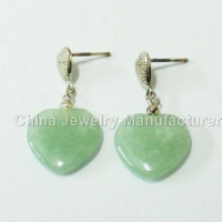 China 925 Sterling Silver Earring on posts on sale