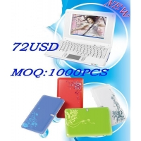 7 Inch Mini wifi Laptop wireless LAN mini laptop notebook