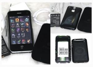 China iPhone 4 1:1Copy wifi COMPASS 3.5inch Capacitive touch screen mobile phone on sale